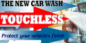 Car Wash Brushless Banner