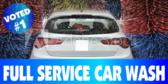 Car Wash Laser Banner