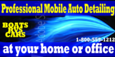 Car Wash Wax and Wash Banner