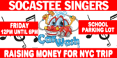 Car Wash High School Fundraiser Banner