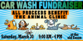Car Wash Donation Banner