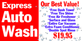 Car Wash Express Auto Banner