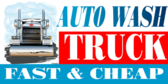 Car Wash Big Rig Truck Banner