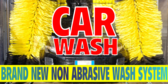 Car Wash Automated Non Abrasive Vehicle Banner