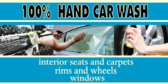 Car Wash Hand Touch Personalized Service Banner