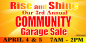 Garage Sale Community Banner