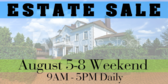 Yard Sale Estate Banner
