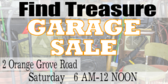Garage Sale Junk Theme Design