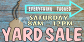 Yard Sale Tag Banner