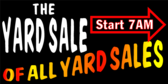 Yard Sale Of All Yard Sales Banner