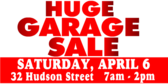 Garage Sale Huge Banner