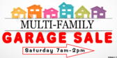 Garage Sale Multi-Family Sign
