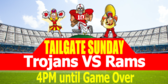 Tailgating Sunday Event Signage