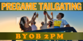 Tailgating Fall Themed Event Signage