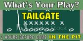 Tailgate Football Signage