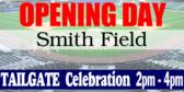 Tailgate Opening Day Baseball Signage