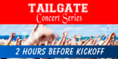 Tailgate Concert Series Banner
