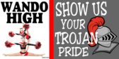 Cheerleading Show Your Pride Banner