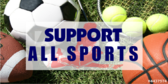Cheer Support Sports Banner