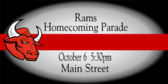 Homecoming Parade Banner