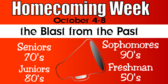 spirit week homecoming banner