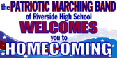 Homecoming Marching Band Banner