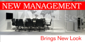 Under New Management New Look Signage
