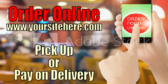 Fast Food Online Order Banner