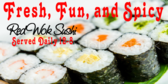 Fast Food Sushi Banner
