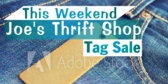 Tag Sale Thrift Shop Sign