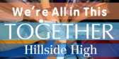 Pep Rally We're All in this Together Banner