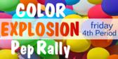 Pep Rally Balloon Drop Banner
