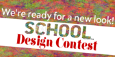 Pep Rally Tshirt Designer Contest Banner