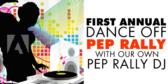 Pep Rally Radio DJ Banner