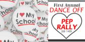 Pep Rally I love My School Banner