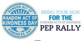 Pep Rally Show Kindness Banner