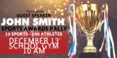 Pep Rally Sports Award Banner