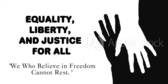 Civil Liberties and Equality Sign