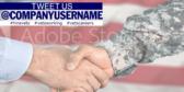 Helping Veterans Find Jobs Sign