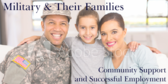 Serving Military Families Sign