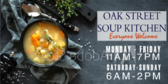 Soup Kitchen Open Daily Sign