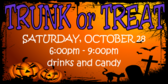 Trunk or Treat Grave Yard Sign