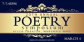 Poetry Symposium