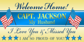 Welcome Home Capt. Jackson