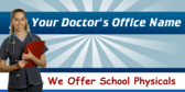 Generic Doctor's Office School Physical