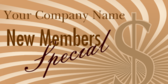 New members Special
