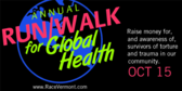 Annual Run/Walk for Global Health