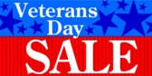 Generic Veteran's Day Sale