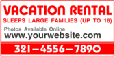 Vacation Rental Hot Info