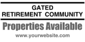 Gated Retirement Community Info